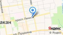Башмаков на карте