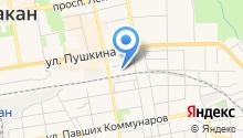 *аст проф* на карте