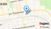 Ast Prof на карте