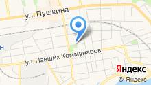 Красный Дракон на карте