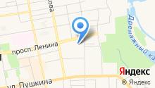 Хакасская республиканская клиническая больница им. Г.Я. Ремишевской на карте