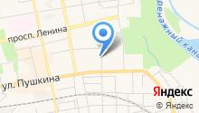 Бивид на карте