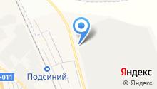 Сибирский бетон на карте