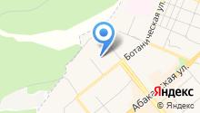 Автосервис на ул. Тимирязева на карте