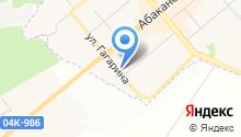 Шинный центр на ул. Гагарина на карте