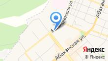 Минуса, ТСЖ на карте