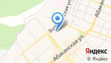 ЗАГС г. Минусинска на карте