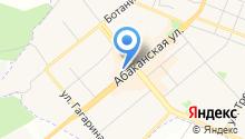 АИКБ Енисейский объединенный банк на карте
