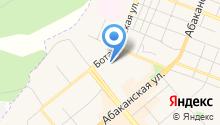 Енисейстанкосервис на карте