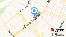 Красноярский краевой центр крови №1 на карте