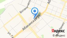 Магазин обуви на Абаканской на карте