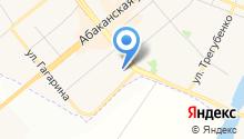 Минусинская межрайонная больница на карте