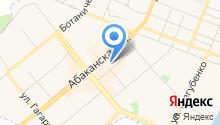 Шушенская птицефабрика на карте