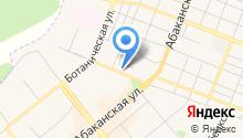 Земли города, МУП на карте