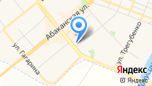 Минусинск Пласт Строй на карте