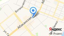 Комиссионный магазин на Абаканской на карте