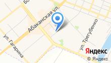 Абаканские полуфабрикаты на карте