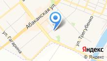 Минусинская городская поликлиника на карте