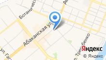 Банкомат, Хакасский муниципальный банк на карте