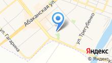 Минусинская городская детская поликлиника на карте