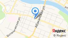 Межрайонный отдел по ветеринарному и фитосанитарному контролю по южной группе районов Красноярского края на карте
