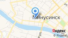 Судебный участок № 100 в г. Минусинске и Минусинском районе на карте