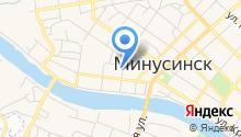 Судебный участок №100 в г. Минусинске и Минусинском районе на карте