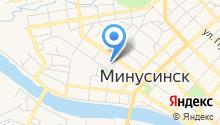 Минусинский пивоваренный завод на карте