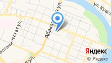 Минусинский на карте