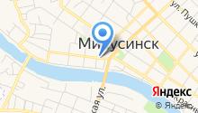 Минусинский драматический театр на карте