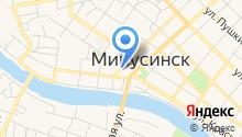 6 отряд ФПС по Красноярскому краю на карте