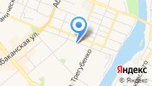 Арус на карте