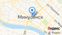 Минусинское городское проектно-производственное архитектурно-планировочное бюро на карте