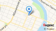 Минусинский сельскохозяйственный колледж на карте