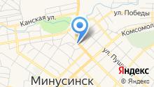 Православный Минусинск на карте