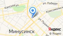 Красноярский краевой психоневрологический диспансер №1 на карте