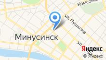 Минусинская межрайонная прокуратура Красноярского края на карте