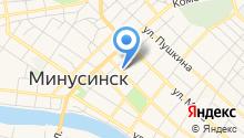 Красноярский краевой кожно-венерологический диспансер №1 на карте