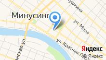 Минусинская кондитерская фабрика на карте