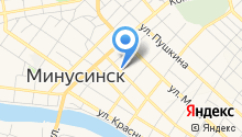 Минусинская центральная районная больница на карте