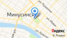 Краевой центр подготовки кадров строительства, ЖКХ и энергетики, КГАУ на карте