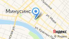 Минусинский городской суд на карте