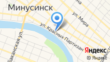 Отдел вневедомственной охраны по Минусинскому району на карте