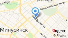 Администрация Минусинского района на карте