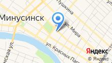 Семена Минусинск на карте
