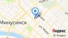 Магазин продуктов на ул. Кравченко на карте