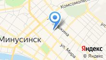 Уголовно-исполнительная инспекция ГУФСИН РФ по Красноярскому краю на карте