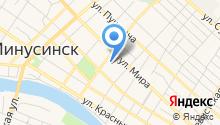 Средняя общеобразовательная школа №3 им. А.С. Пушкина на карте