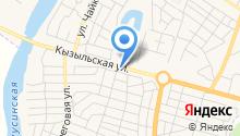 На Кызыльской на карте