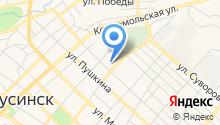 Березин В.В. на карте